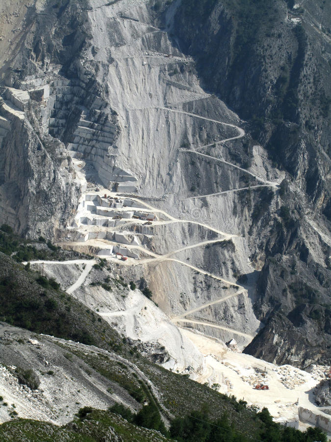 Free Marble Quarry Royalty Free Stock Photo - 14543785