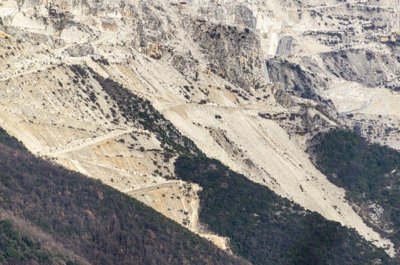 Download Marble quarry stock image. Image of transportation, carrara - 29347245