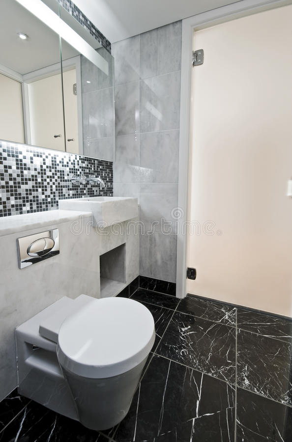 Download Marble rest room stock photo. Image of interior, contemporary - 12140910