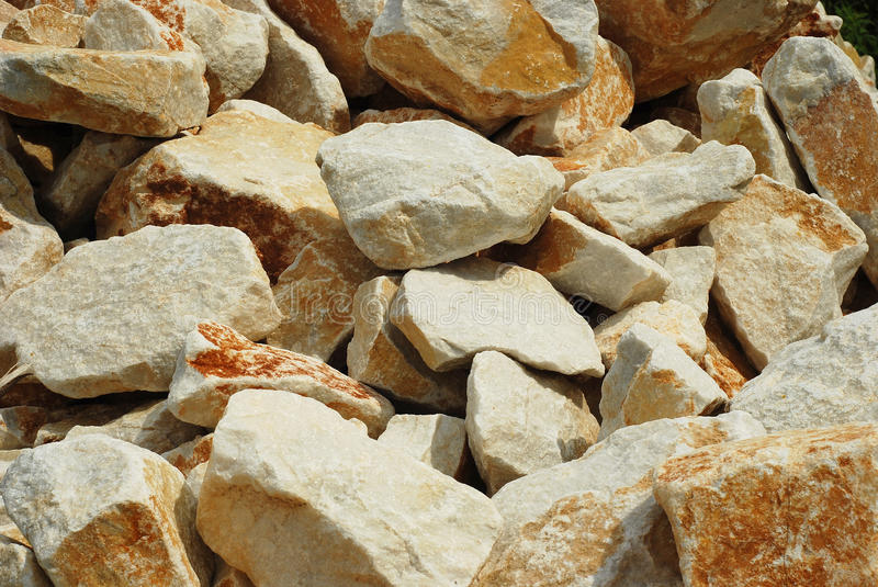 Marble rocks stock images