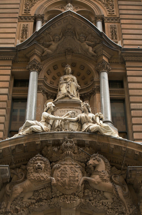 Download Marble Sculpture Of Queen Victoria Britain, London Stock Image - Image: 11833063