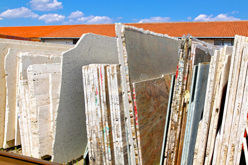 Download Marble sheets stock image. Image of industry, warehouse - 13961075