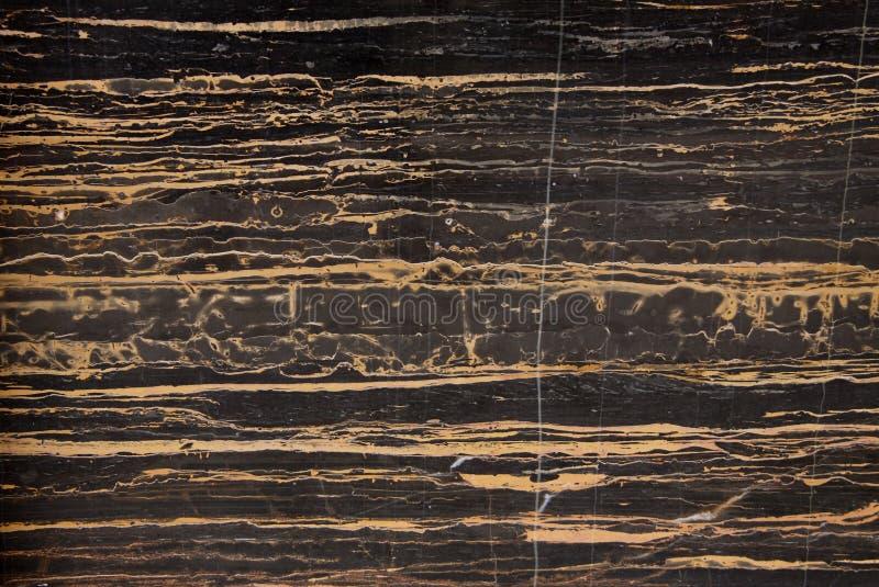 Marble Slab Stone Italy Portoro Royalty Free Stock Photos