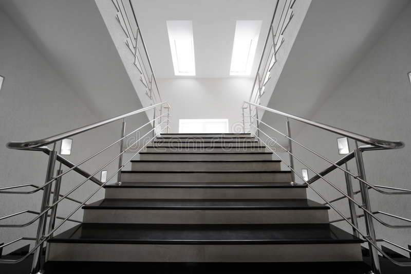 Download Marble staircase stock photo. Image of design, interior - 5411684