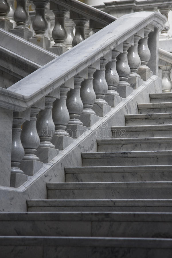 Marble Staircases Royalty Free Stock Photography
