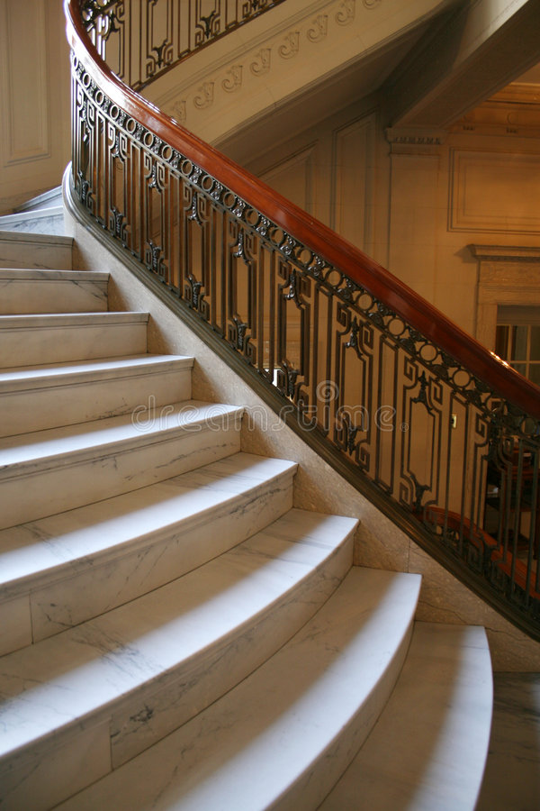 Marble Stairs stock photos
