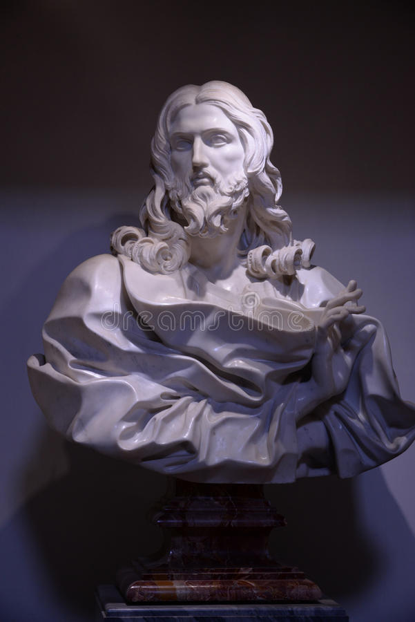 Marble Statue of Jesus Christ royalty free stock image