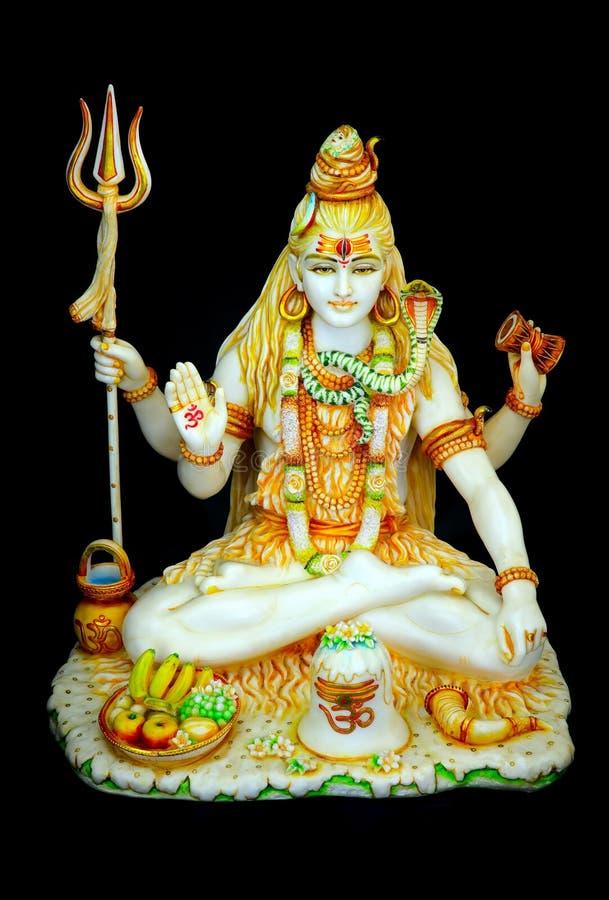 Free Marble Statue Of Hindu God, Lord Shiva Royalty Free Stock Photo - 156785495