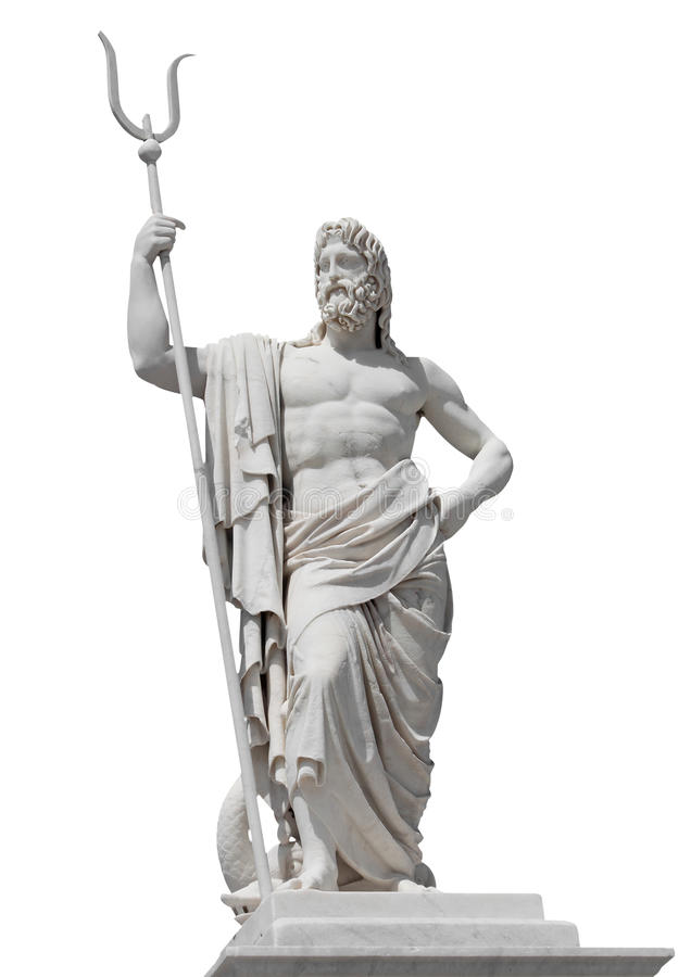 Download Marble Statue Of The Sea God Neptune Stock Image - Image: 16379401