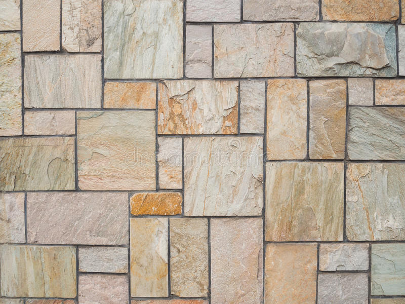 Marble stone wall. Tile background royalty free stock photo