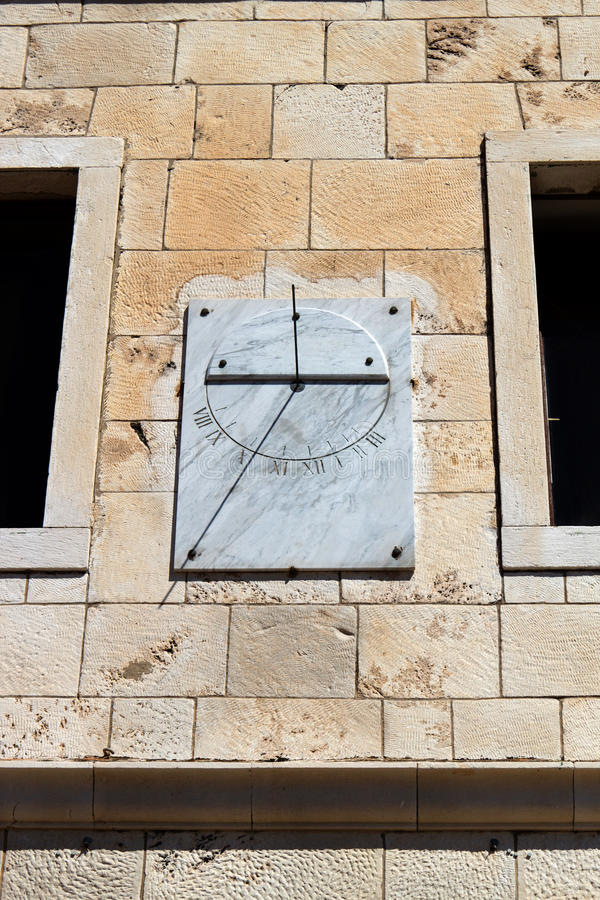 Download Marble Sun-dial Stock Image - Image: 17116901