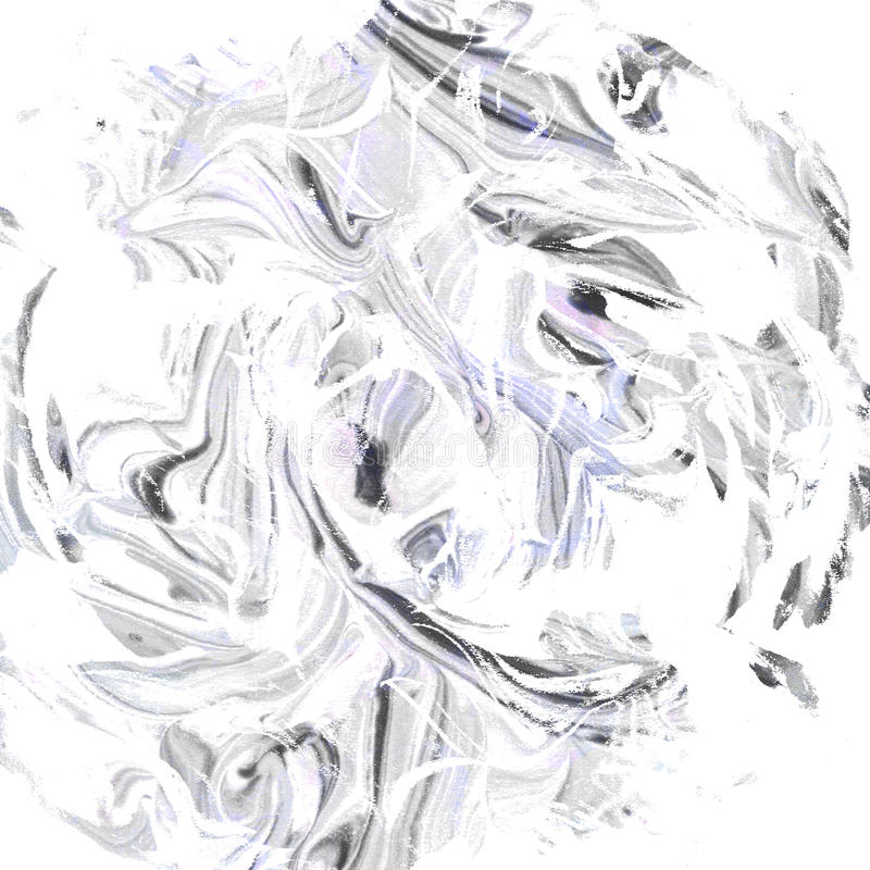 Marble texture. Monochrome black and white minimalistic background, hand drawn with ink. vector illustration