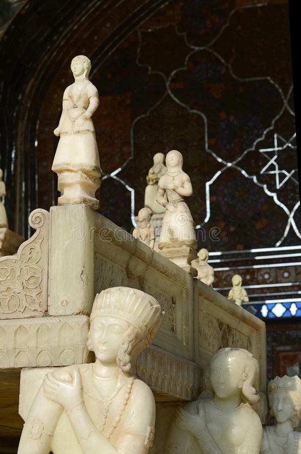 Download Marble throne stock image. Image of detail, asian, qajar - 28731039