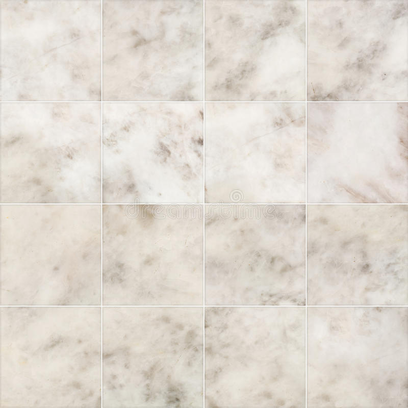 Marble tiles seamless flooring texture for background and design. stock image