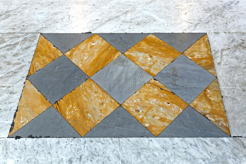 Marble Tiles. Yellow and Gray Luxury Marble Stone Tiles stock photo