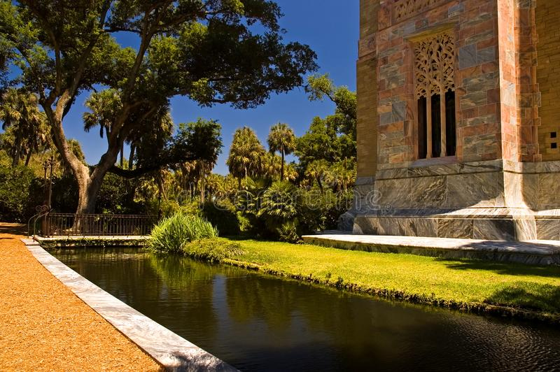 Marble tower and moat