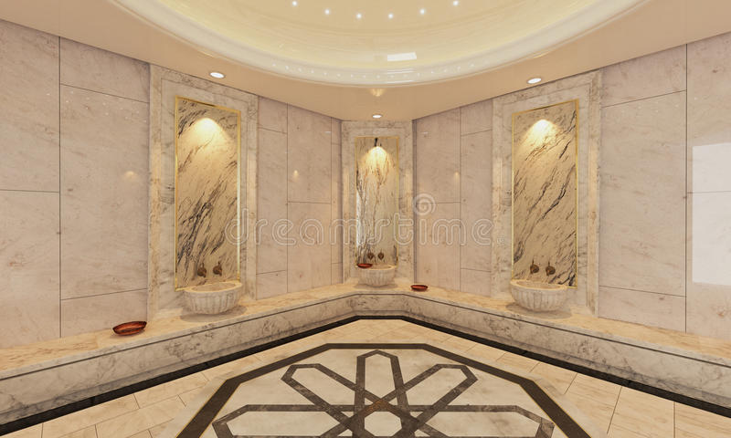 marble turkish hamam bath modern design stock image image of bath lifestyles 82543789. Black Bedroom Furniture Sets. Home Design Ideas