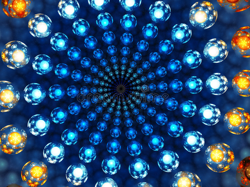 Marble Vortex royalty free illustration