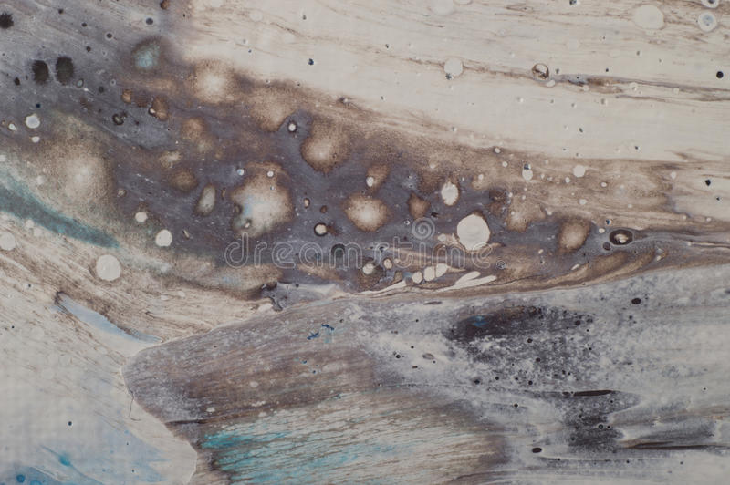 Marbled marine abstract background. Liquid acrylic marble pattern.  stock images