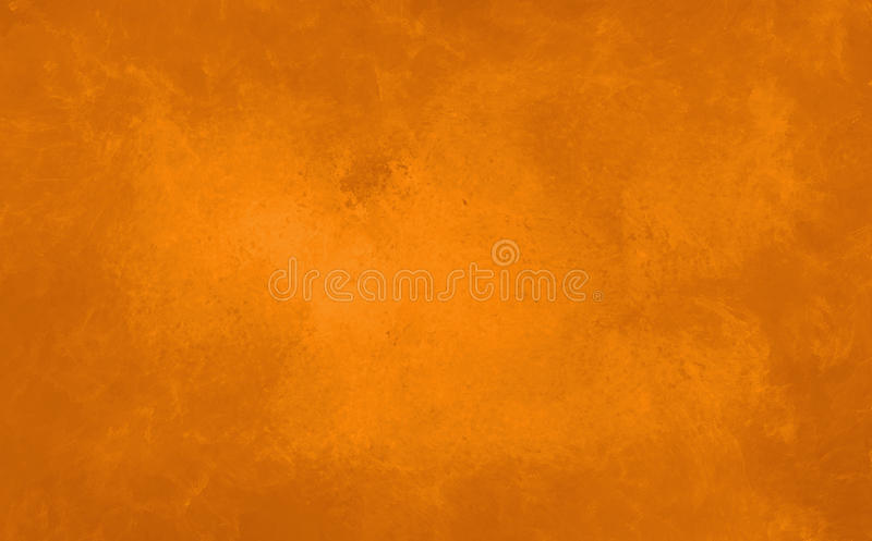 Marbled orange background in warm autumn halloween colors royalty free stock images