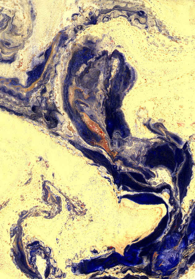 Marbled paper stock photography