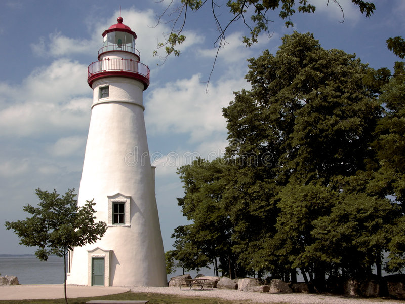 Marblehead Light royalty free stock photo