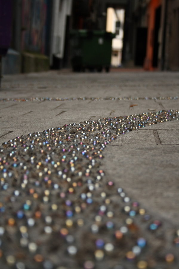 Free Marbles Embedded On Pavement Stock Photos - 7102543