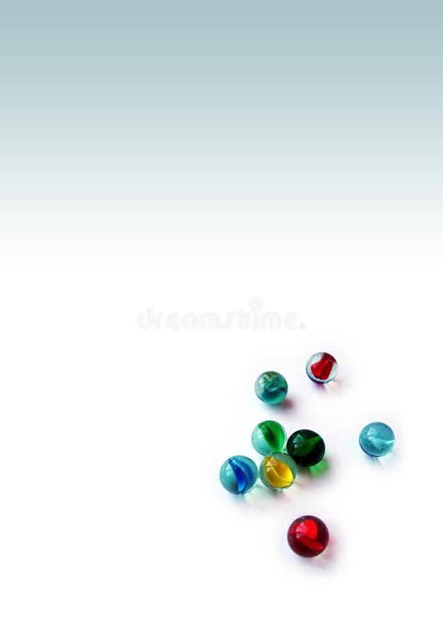 marbles szkła obraz stock