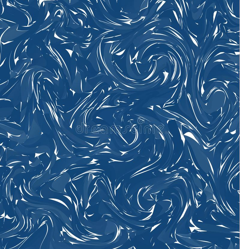 Marbling. Blue Marble texture. Paint splash. Colorful fluid. Abstract liquid colored background. Vector illustration vector illustration