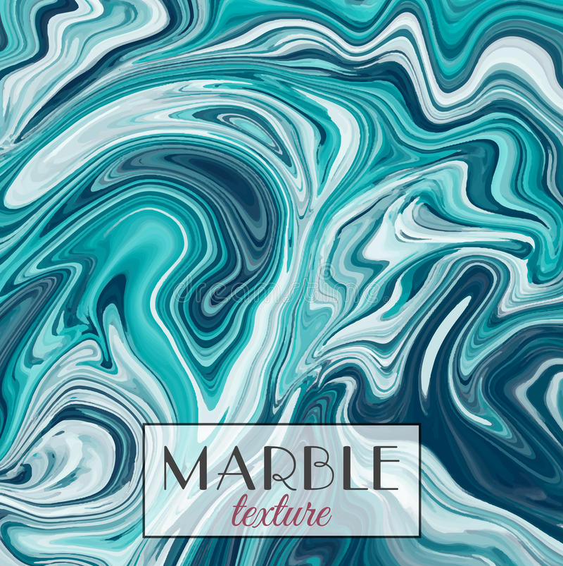 Marbling. Marble texture. Vector abstract colorful background. Paint splash. stock illustration