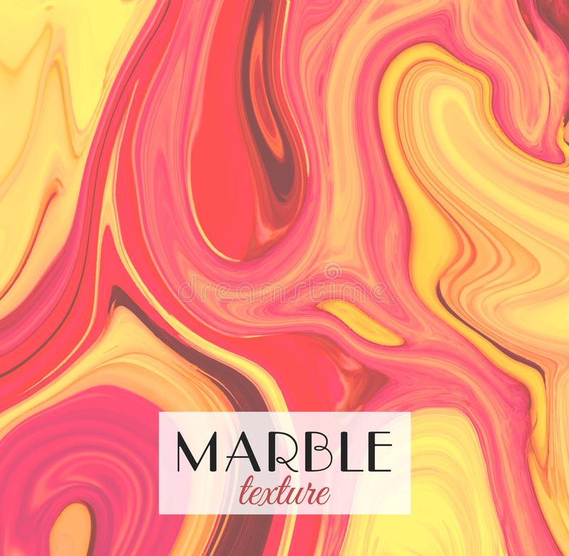 marbling Textura de mármol Fondo colorido abstracto artístico Chapoteo de la pintura Líquido colorido Colores brillantes libre illustration