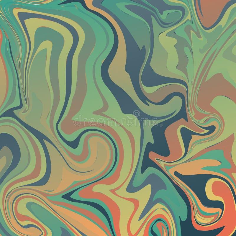 Marbling Texture design for poster, brochure, invitation, cover book, catalog. Vector illustration. Concept stock illustration