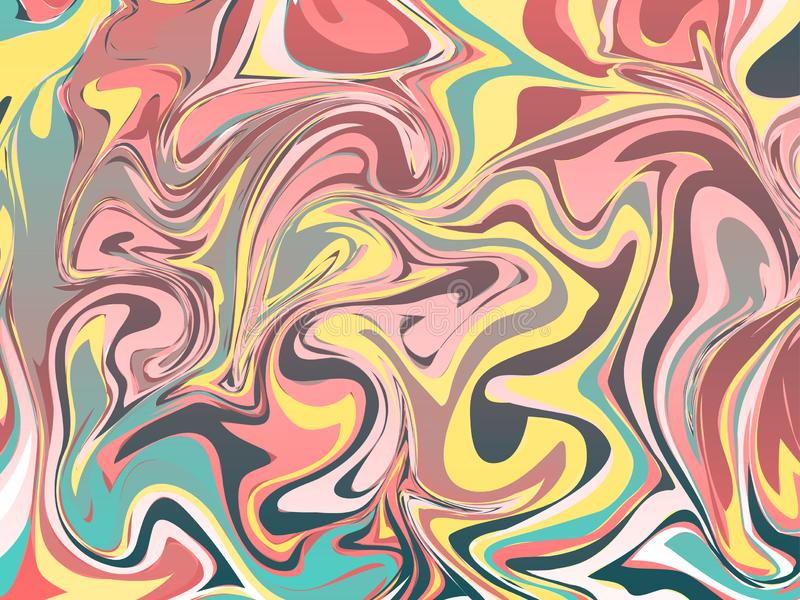 Marbling Texture design for poster, brochure, invitation, cover book, catalog. Vector illustration. Concept vector illustration