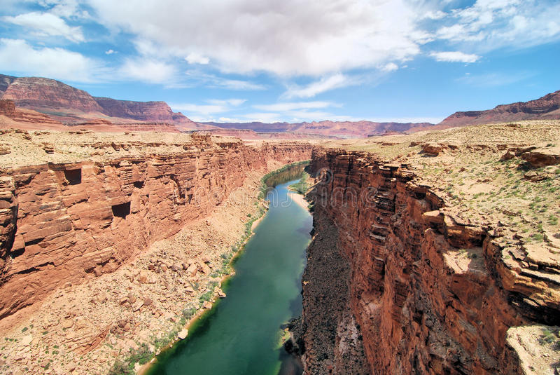 Marblr峡谷 库存照片