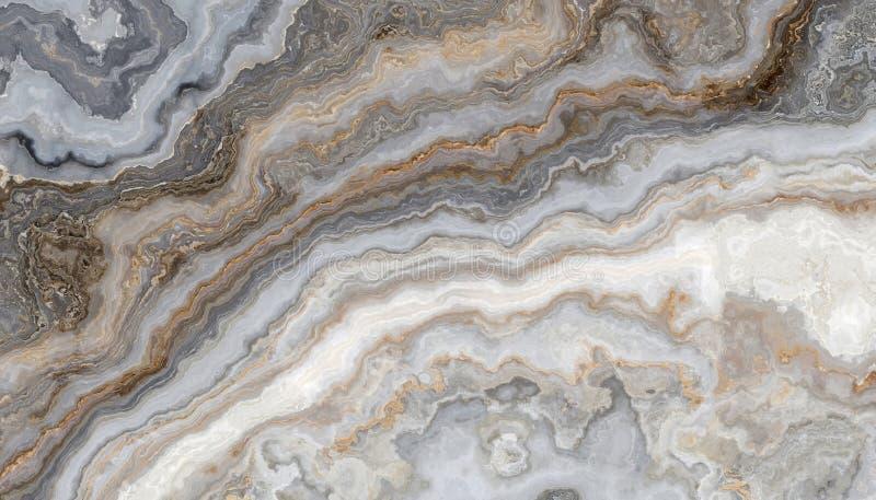 Marbre bouclé gris illustration de vecteur