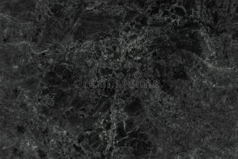 Marbre noir naturel abstrait image libre de droits