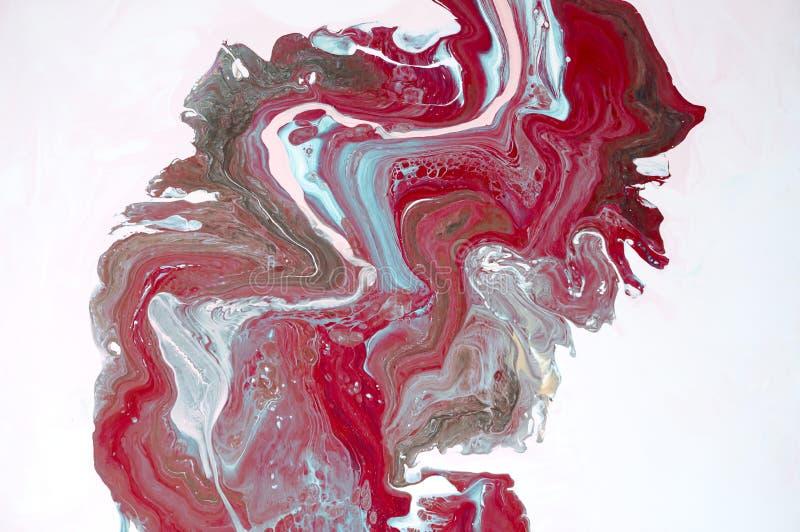 marbrer Texture de marbre Peignez l'éclaboussure Fluide coloré Fond coloré par abstrait Illustration de trame Painti abstrait col photos stock