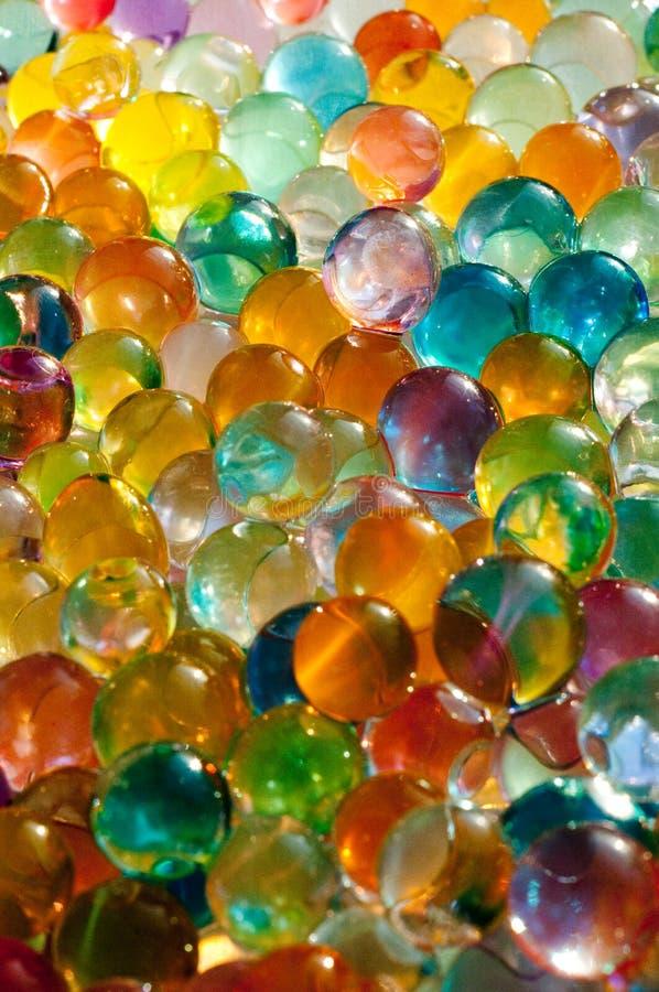 Marbres colorés photo libre de droits