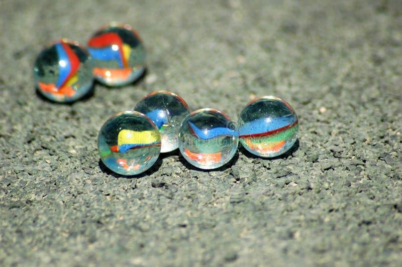 Marbres colorés image stock