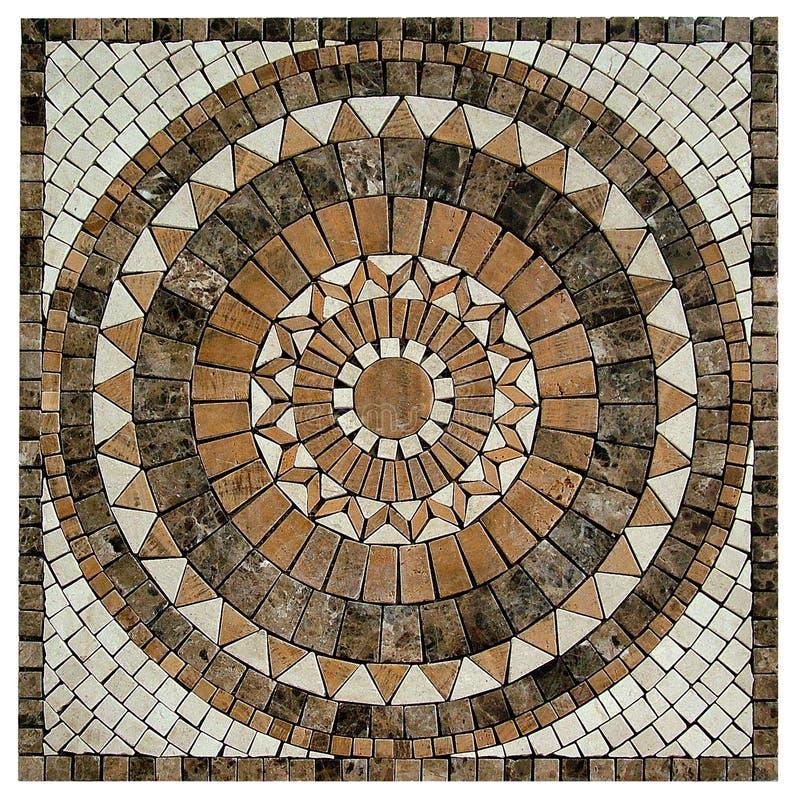 Marbrez le fond de texture de mosaïque image libre de droits