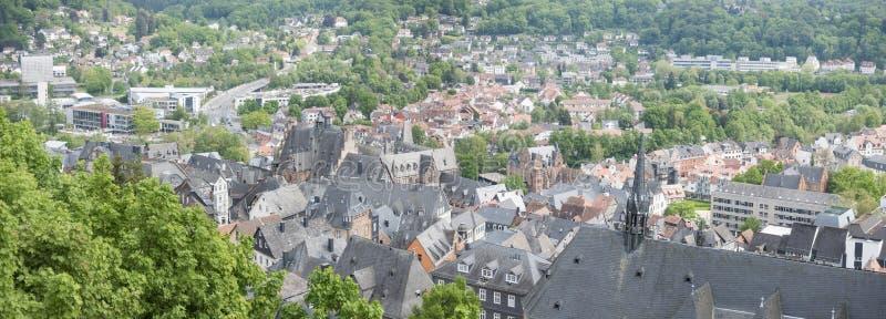 Marburg Hesse Duitsland stock fotografie