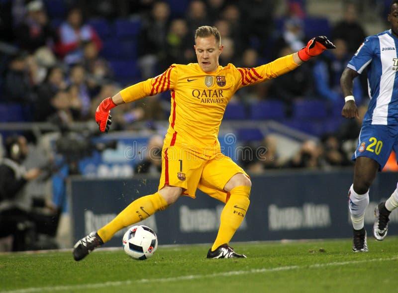 Marc-Andre ter Stegen von FC Barcelona lizenzfreie stockfotografie