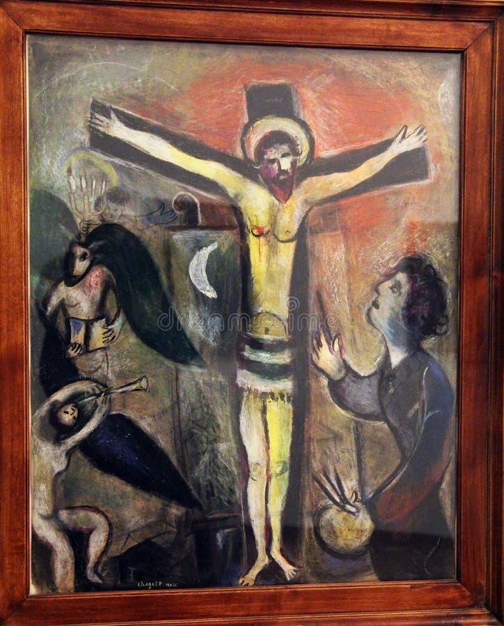 Marc Chagall Redactionele Fotografie Afbeelding Bestaande Uit