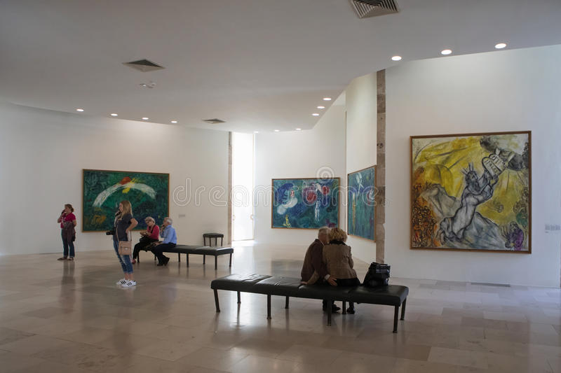 Marc Chagall Museum, Nice, France royalty free stock photos