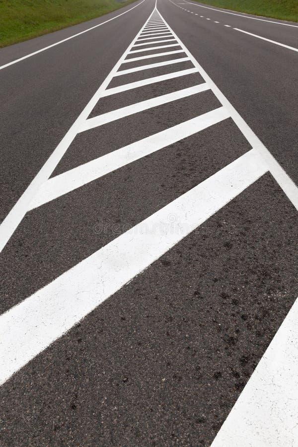 Marcações de estrada imagem de stock royalty free