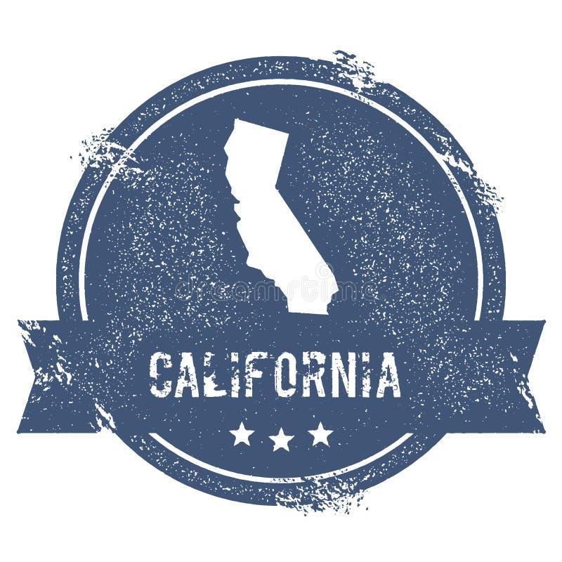 Marca de Califórnia ilustração do vetor