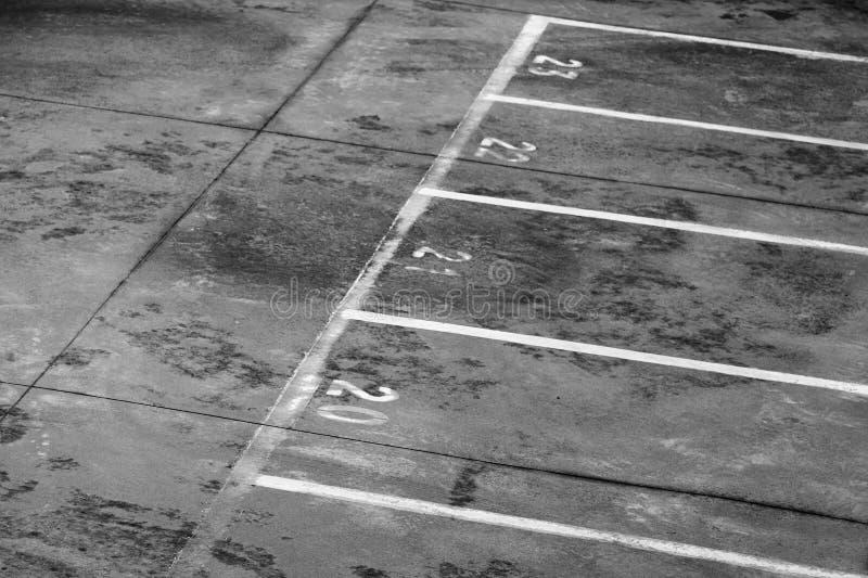 Marca de la zona portuaria de cargamento de la terminal de transbordadores imagenes de archivo