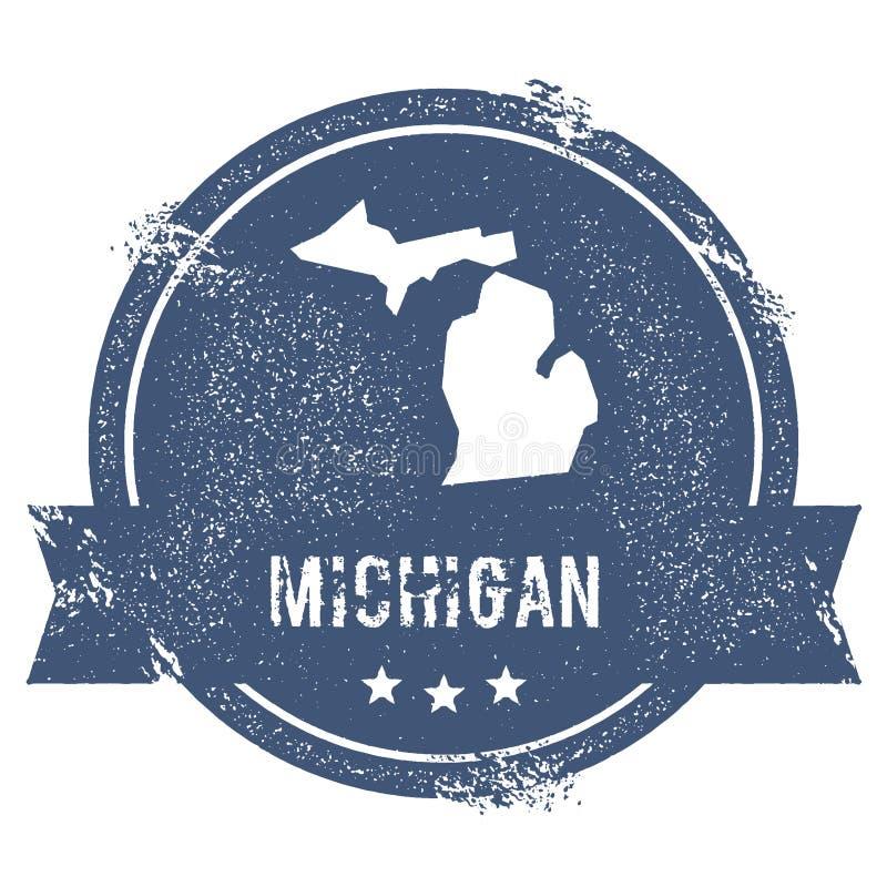 Marca de Michigan imagem de stock royalty free