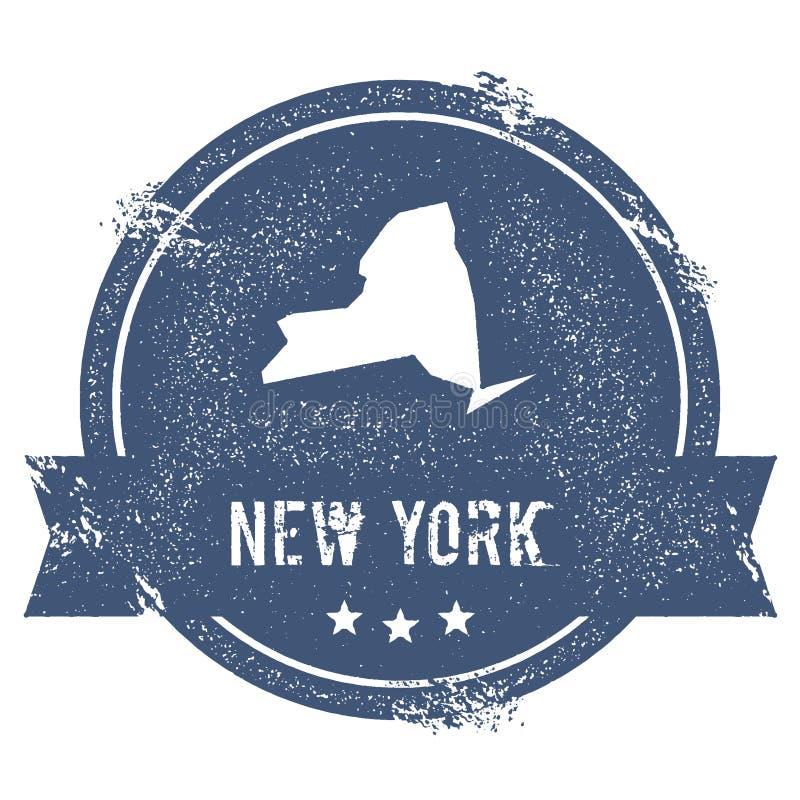 Marca de New York ilustração do vetor