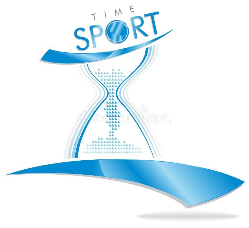 tiempo del deporte libre illustration